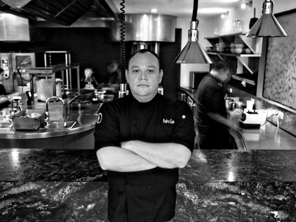 Chef Pedro Evia at his Mérida restaurant, Ku'uk.