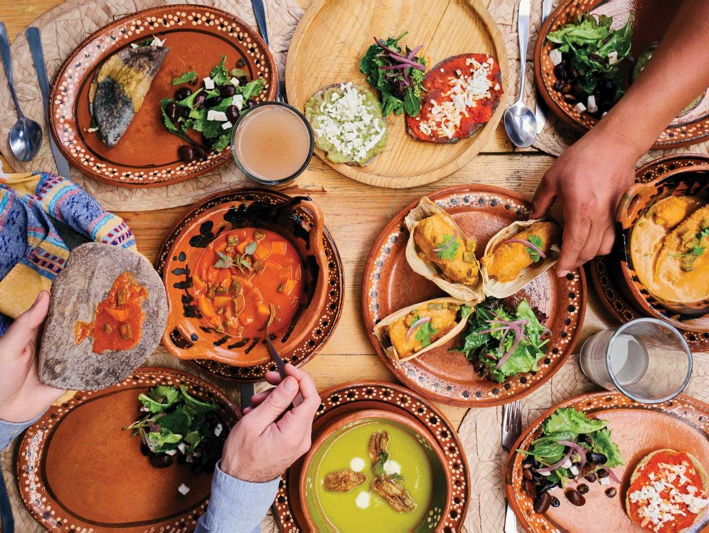 Vibrant moles, colorful salsas, and antojitos at Milli restaurant.