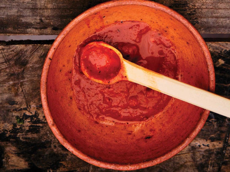 Tomato, Guajilo, and Ancho Chile Salsa