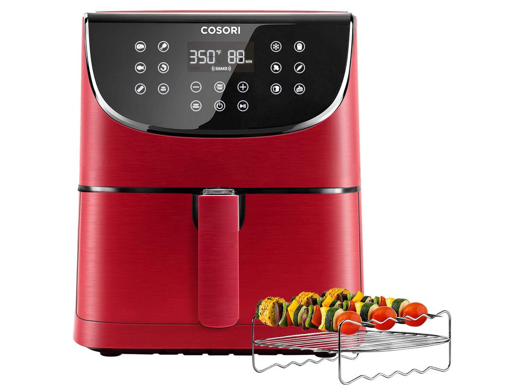 COSORI Air Fryer,Max XL 5.8 Quart,1700-Watt Electric Hot Air Fryers Oven & Oilless Cooker for Roasting,LED Digital Touchscreen with 11 Presets,Nonstick Basket,ETL Listed(100 Recipes)