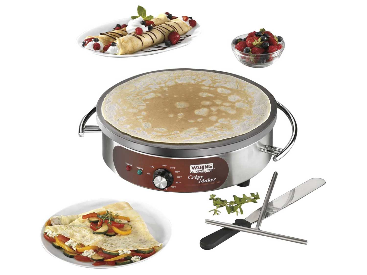 Waring Commercial Heavy-Duty Electric Crepe Maker