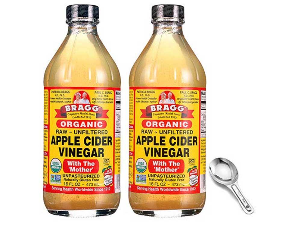 Bragg's Raw, Unfiltered Apple Cider Vinegar