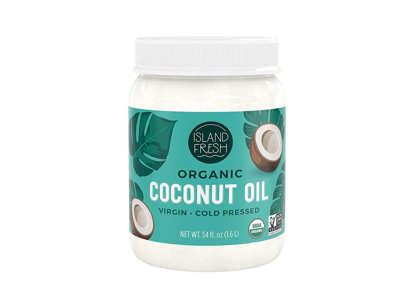 Island Fresh Superior Organic Virgin Coconut Oil, 54 Ounce
