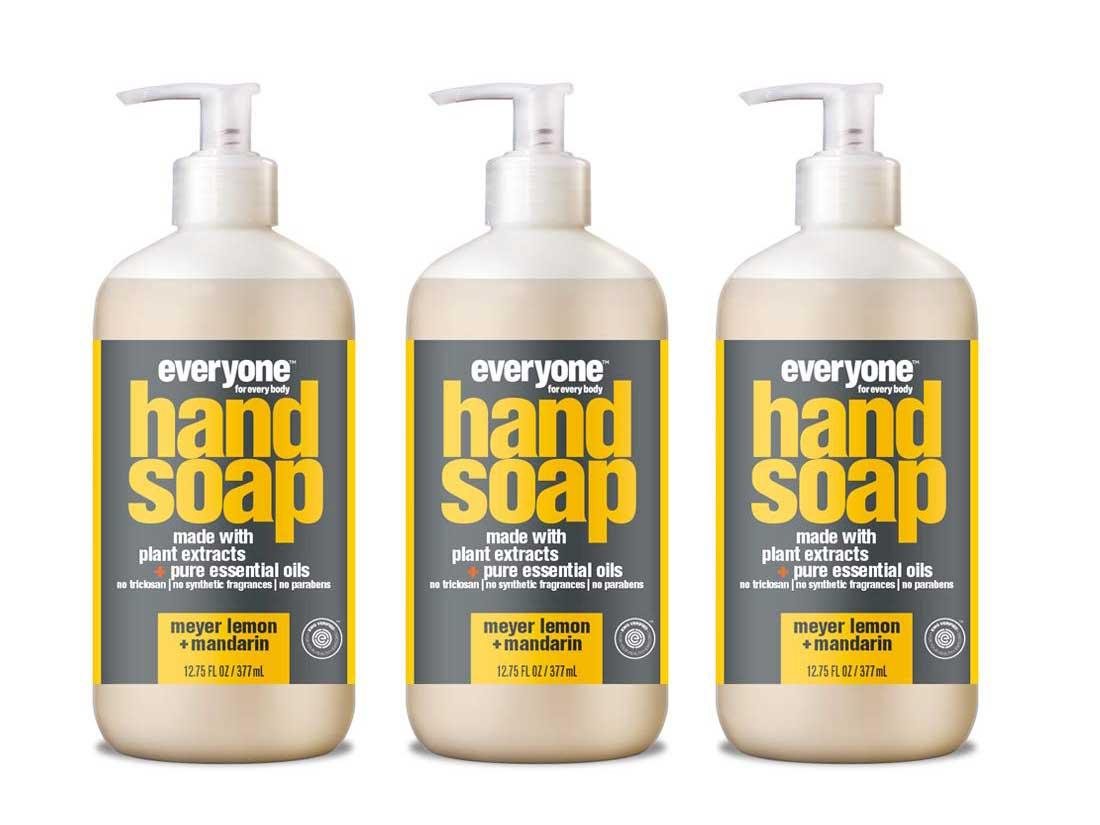 Everyone Hand Soap: Meyer Lemon and Mandarin, 12.75 Ounce, 3 Count