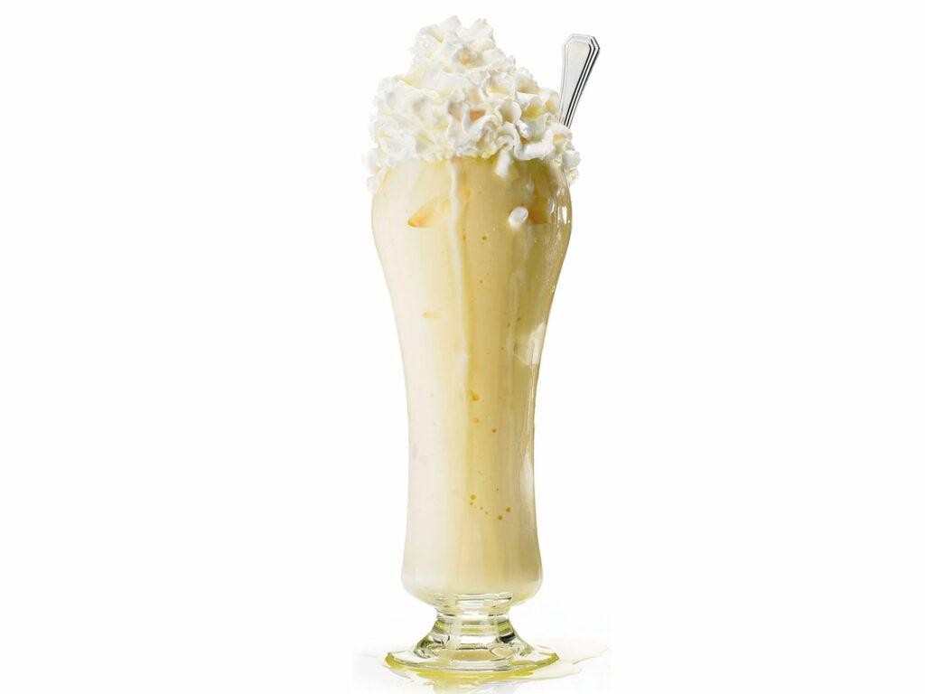 Golden Cadillac milkshake