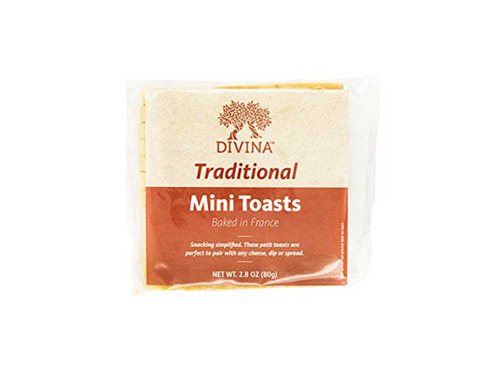 Divina Mini Toasts, 2.75 Oz.