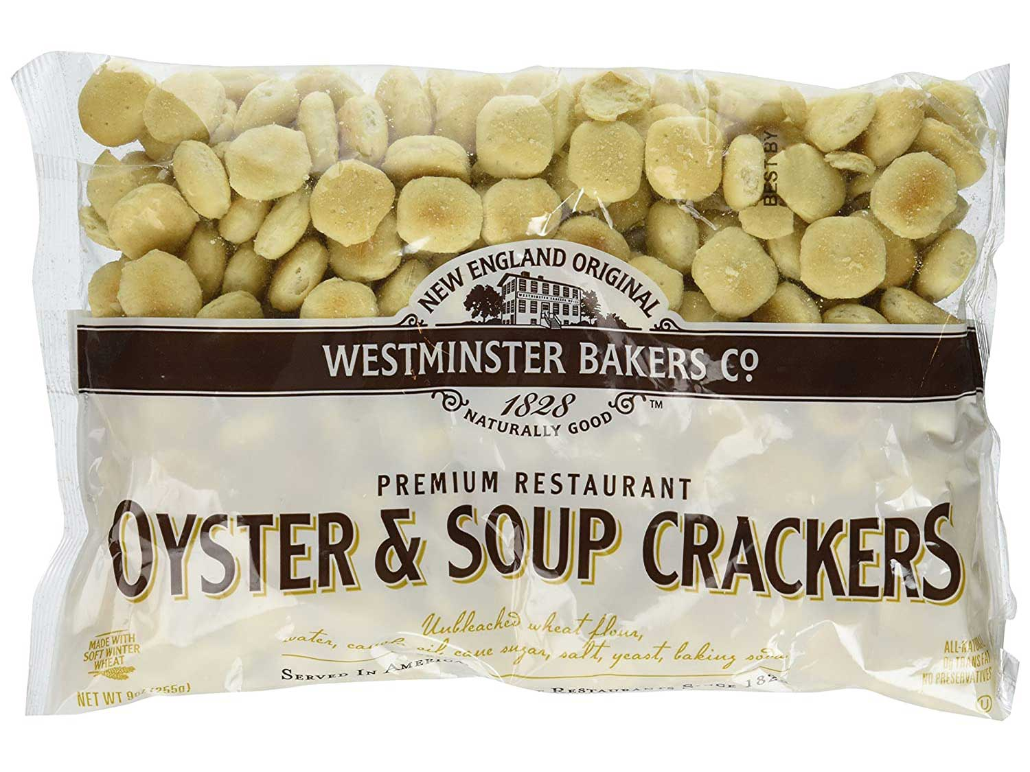New England Original Westminster Bakeries Oyster & Soup Crackers (3 Pack)