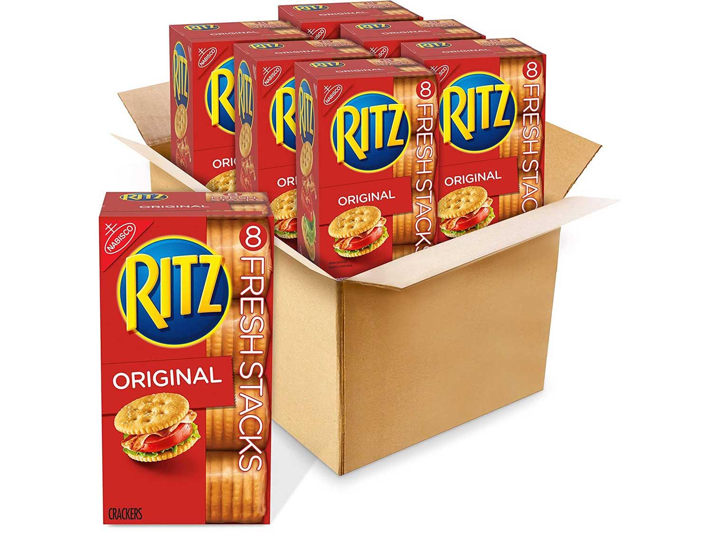 RITZ Fresh Stacks Original Crackers, 6 - 11.8 oz Boxes