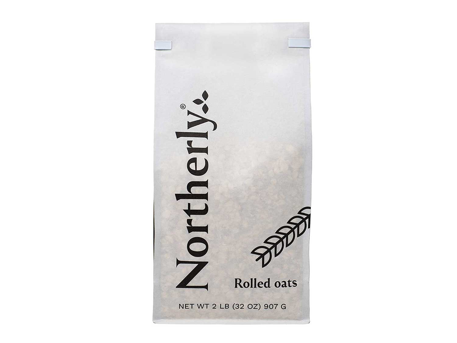 Northerly Farms Rolled Oats ~ Your purchase helps For The Grainer Good Feed The World. Hearty Healthy Delicious Easy Rolled Oats (2LB Bag)