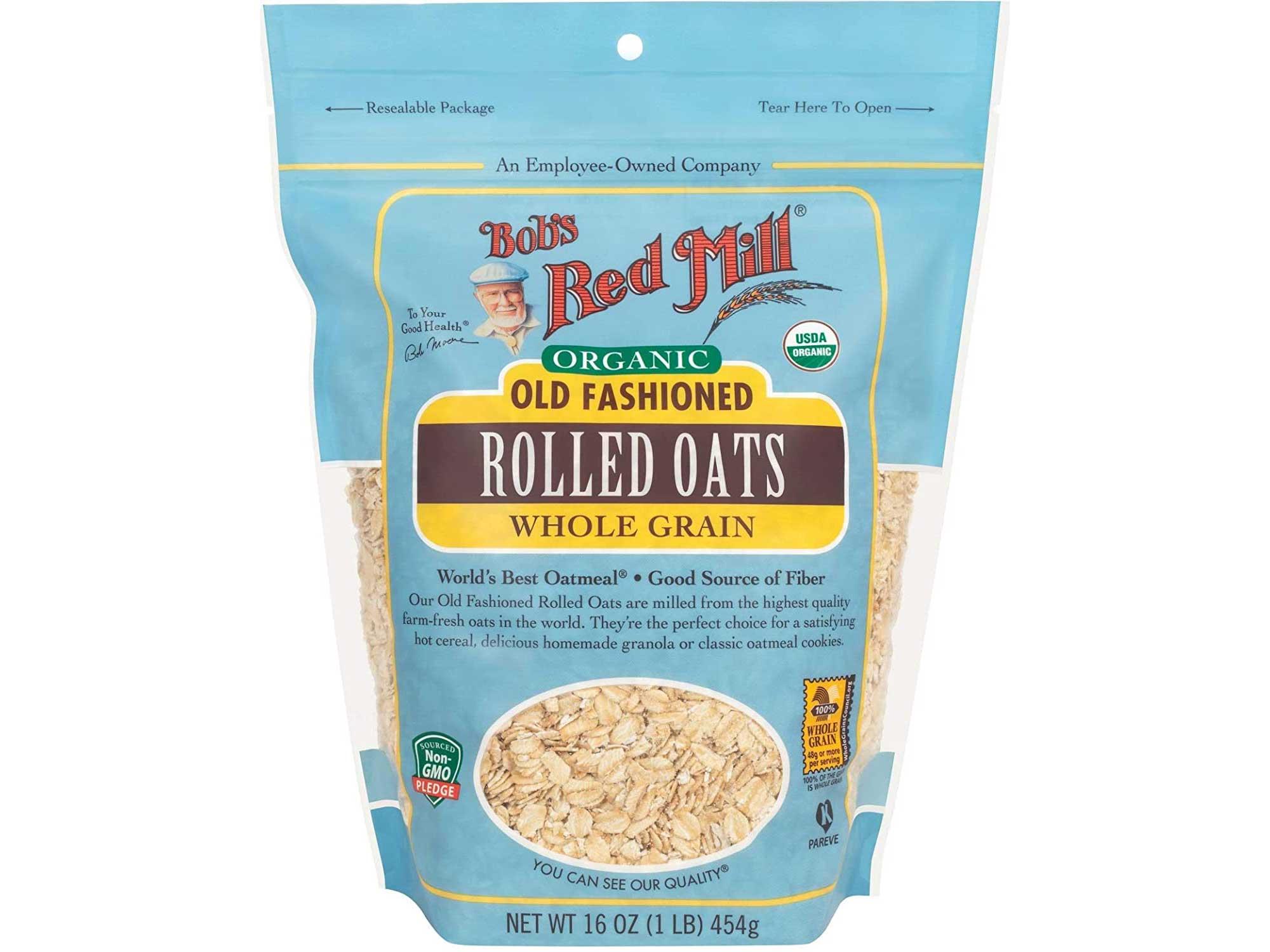 Bob's Red Mill Organic Oats Rolled Regular - 16 oz