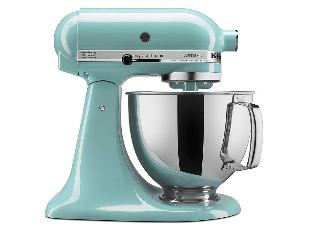 KitchenAid Artisan Series 5-Qt. Stand Mixer with Pouring Shield - Aqua Sky