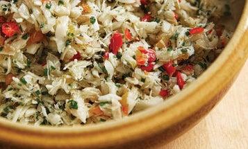 Chiquetaille de Mourue (Marinated Salt Cod)