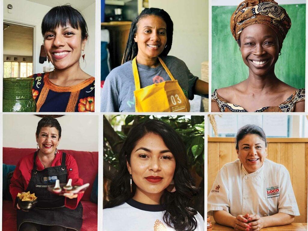 Fabiola Santiago, Tiffany Carter, Nafy Flatley, Karla Rosales-Barrios, Reyna Maldonado, Veronica Salazar