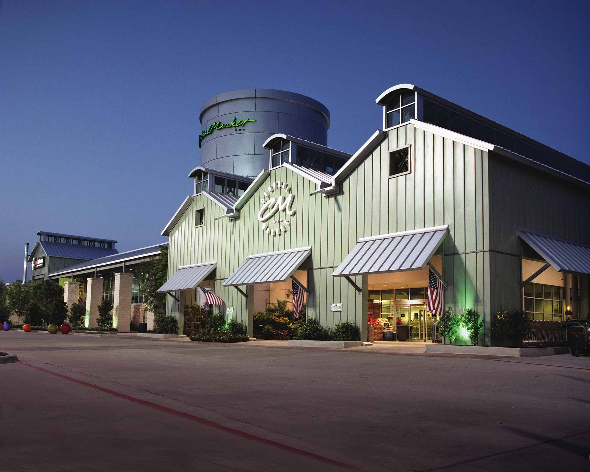 Central Market grocery store in Austin 1994