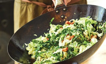 Stir-Fried Cabbage with Bacon