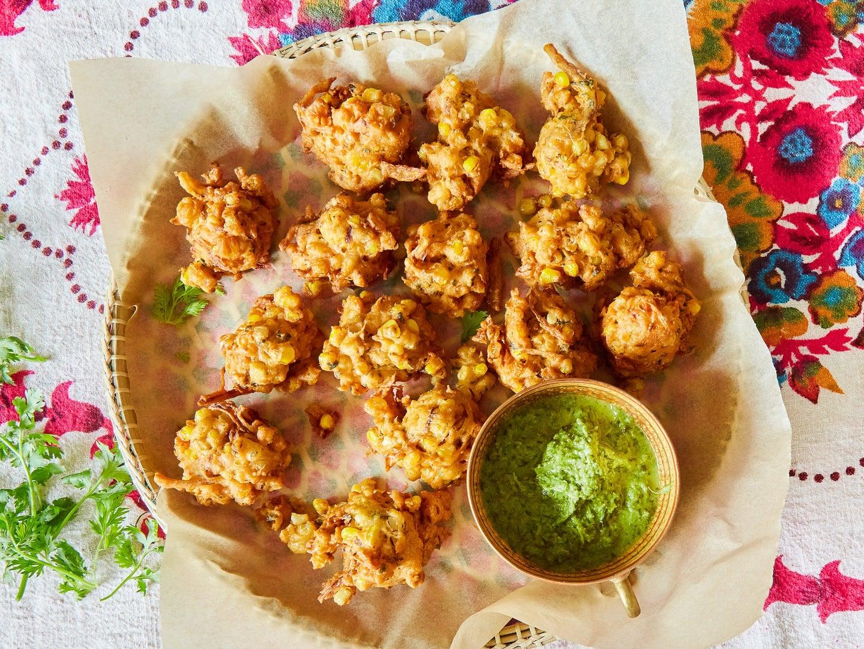 Sweet Corn Pakoras