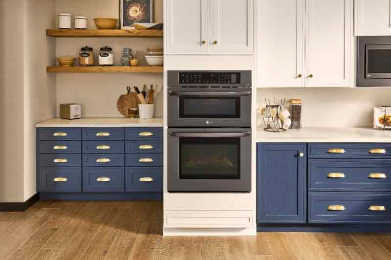An oven with the actual power of four different oven types.
