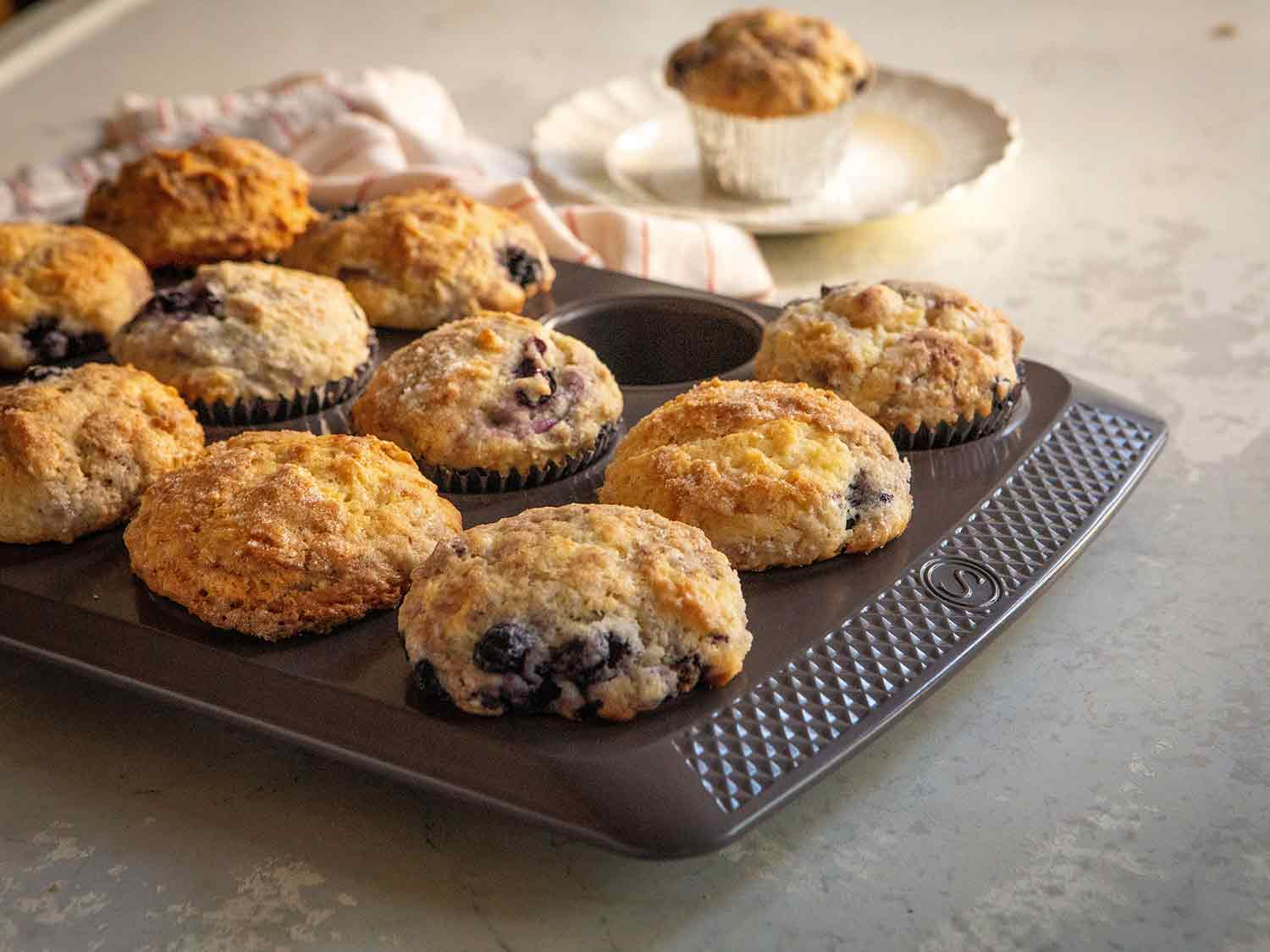 Saveur Selects 12-cup non-stick muffin pan