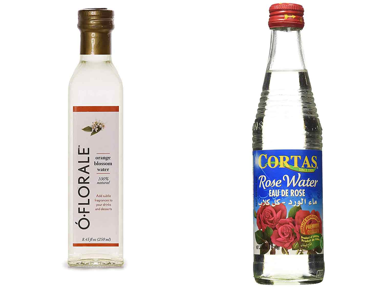 Ó·FLORALE, 100% Natural Orange Blossom Water, 8.45 fl oz and CORTAS Rose Flower Water, 10 OZ