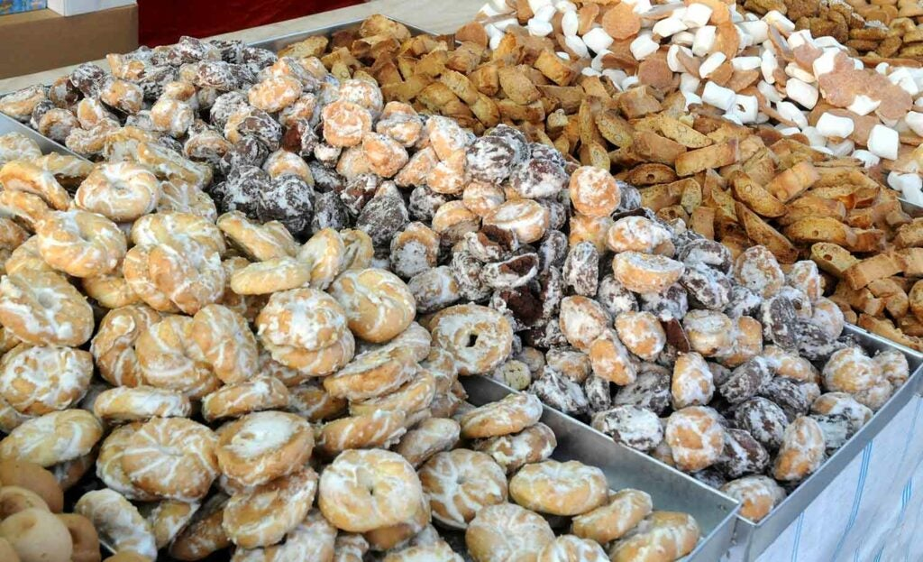 Traditional Sicilian sweets are piled high at local markets and secret convents.