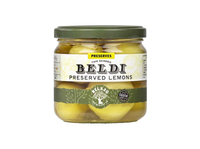 BELAZU Preserved Lemons, 220 GR