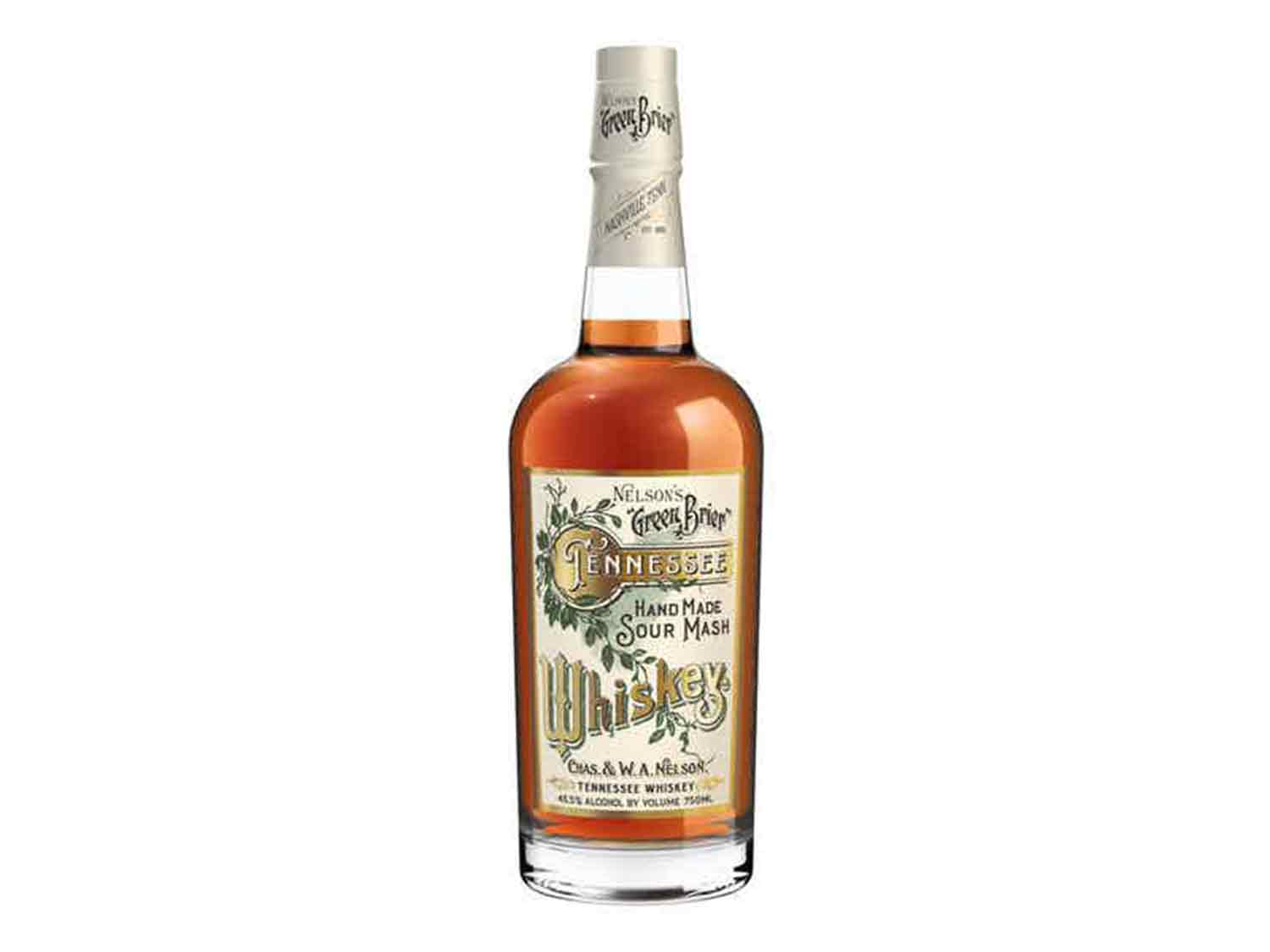 Tennessee Whiskey: Nelson's Green Brier Tennessee Whiskey