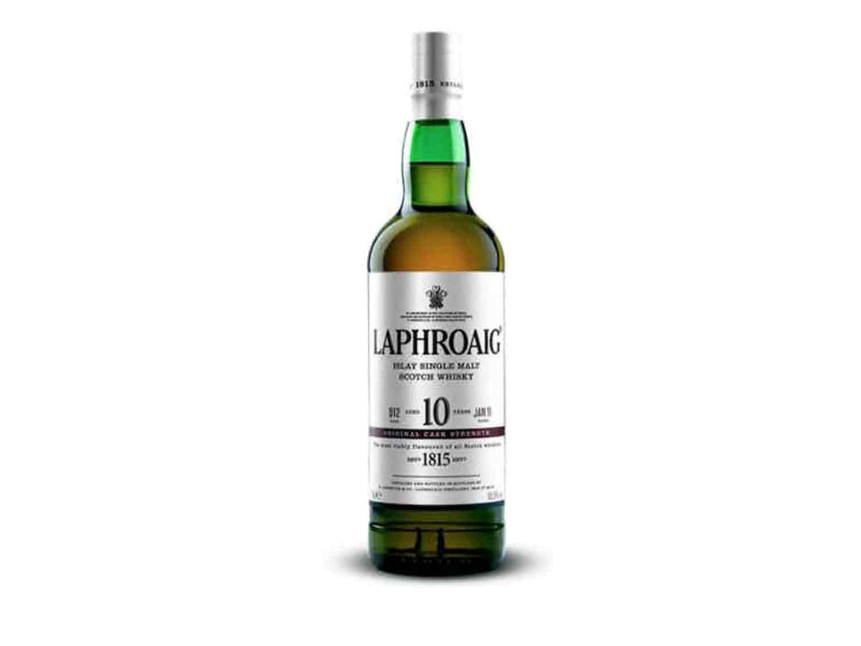Scotch Whisky (Peated): Laphroaig 10 Year Cask Strength
