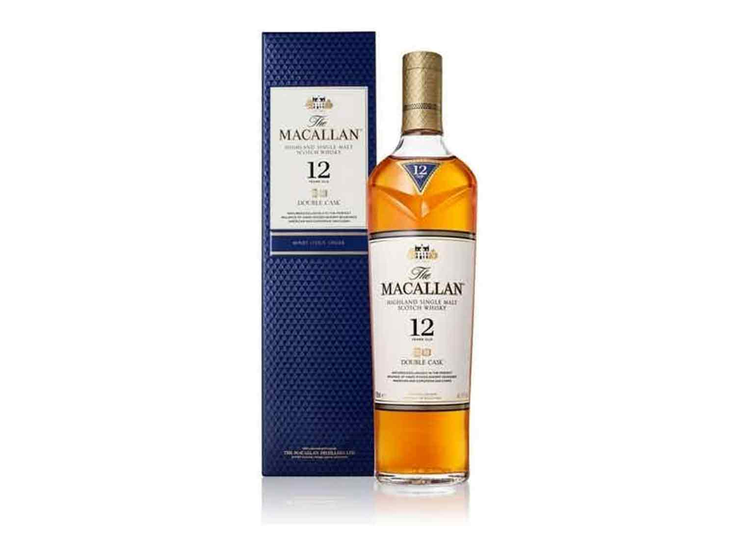 Scotch Whisky (Unpeated): The Macallan Double Cask 12 Year