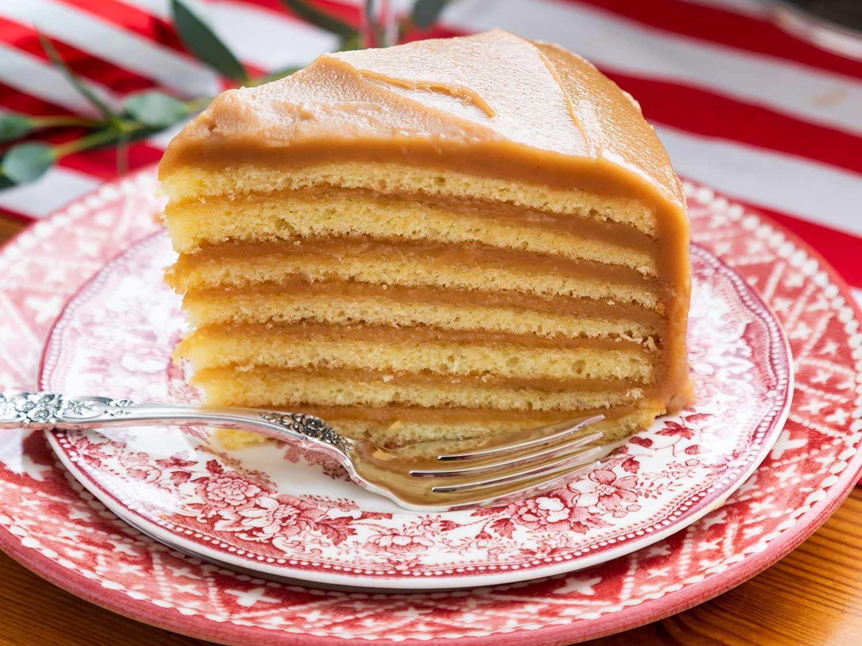 Caroline's Cakes Caramel Cake