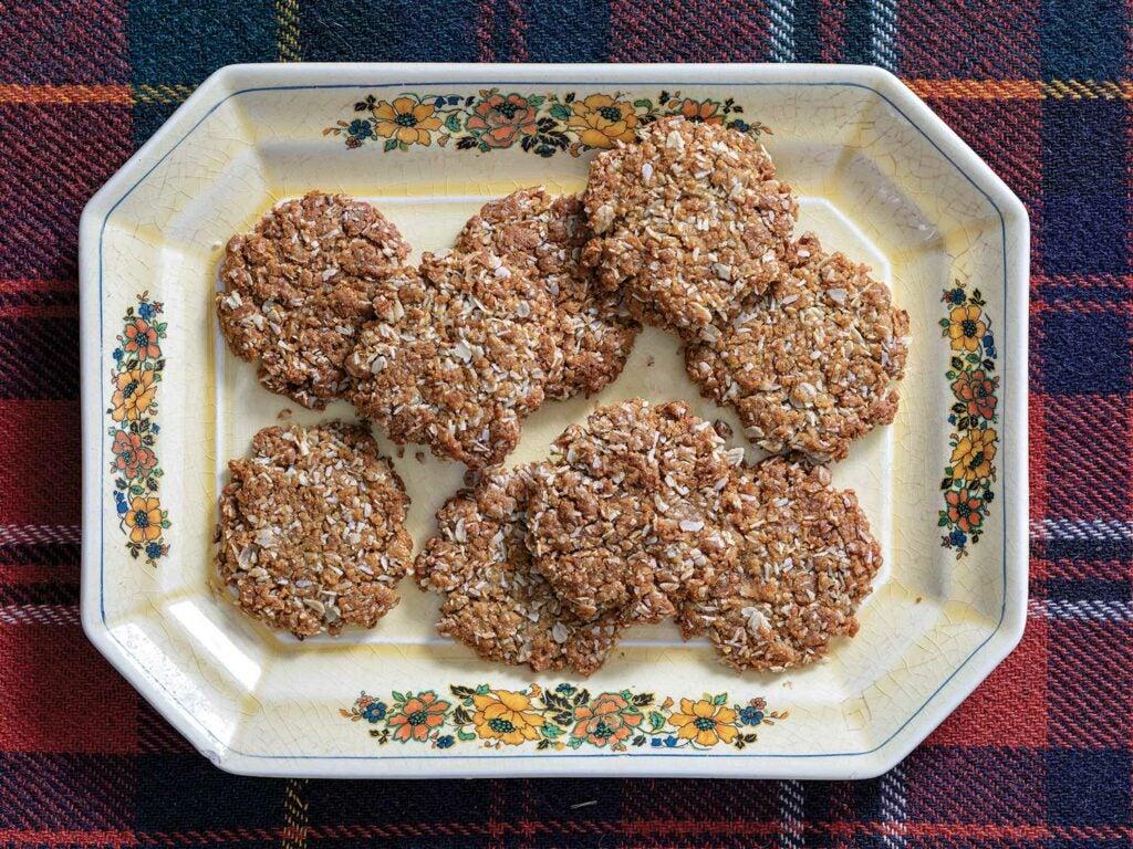Aussie-Kiwi Anzac Biscuits