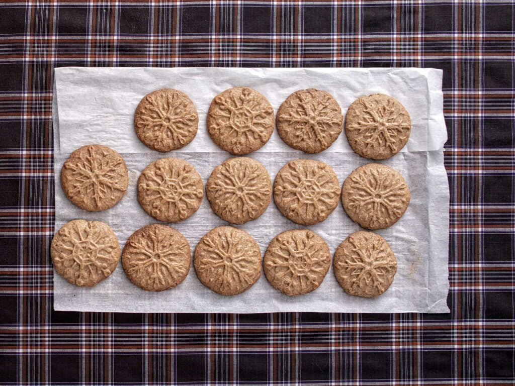 Dutch Speculaas (Molded Ginger Cookies)