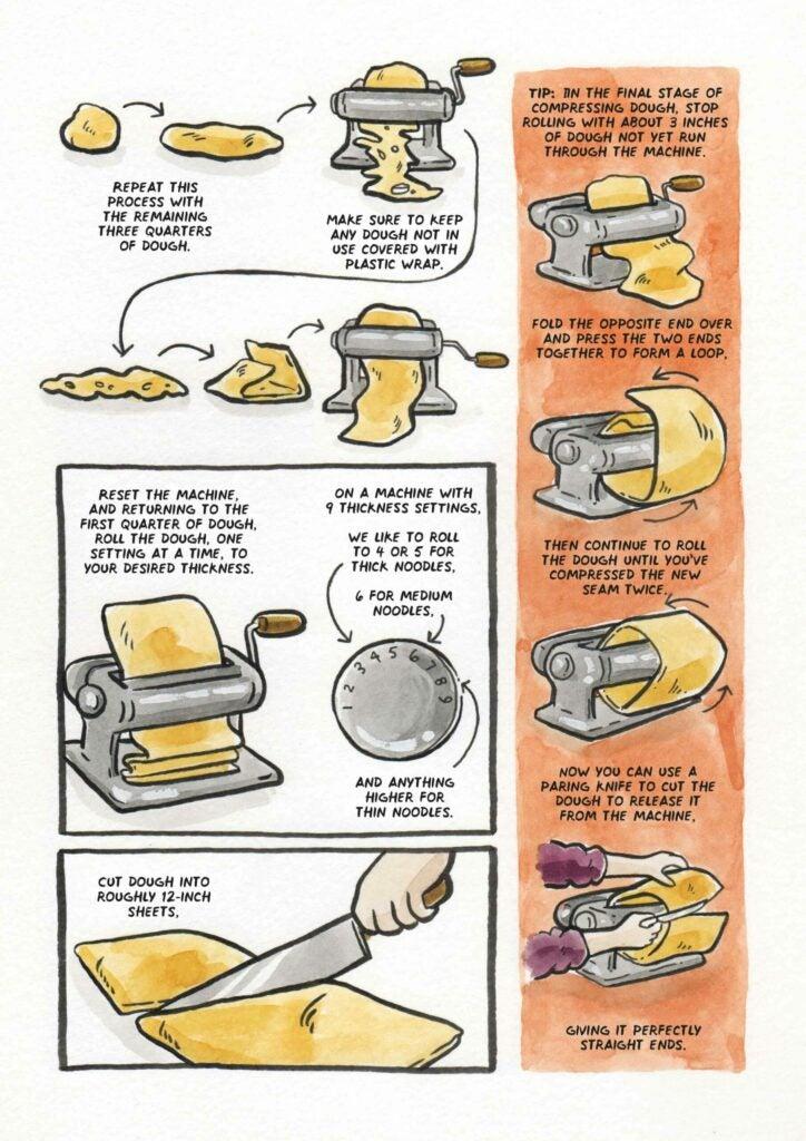 How to make ramen noodles step 4