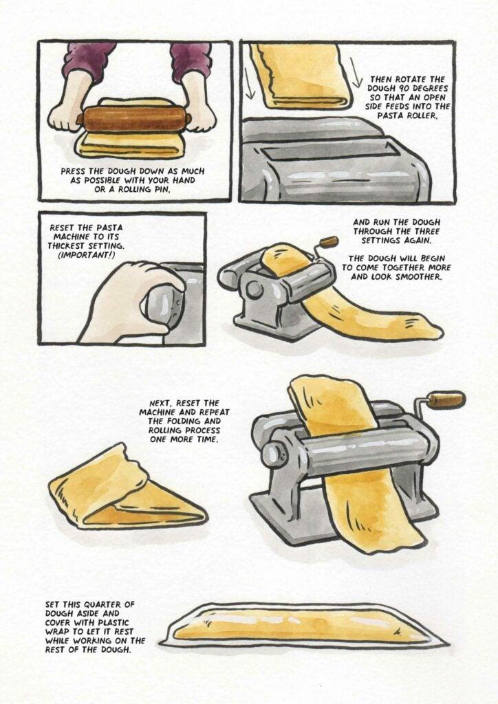 How to make ramen noodles step 3