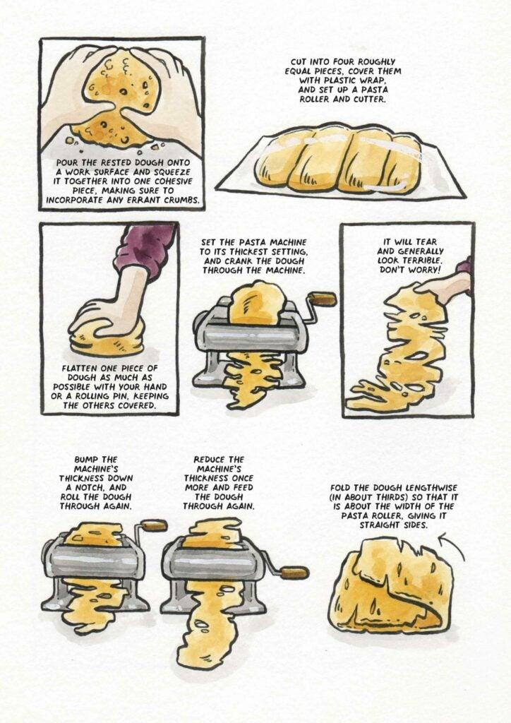 How to make make ramen noodles step 2