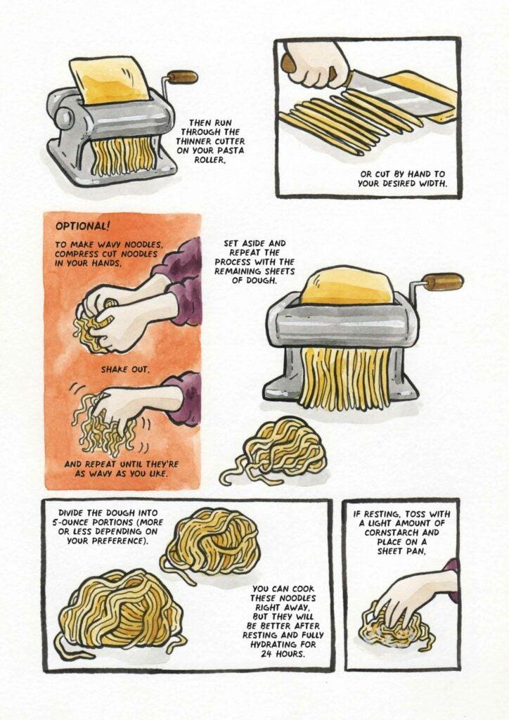 How to make ramen noodles step 5