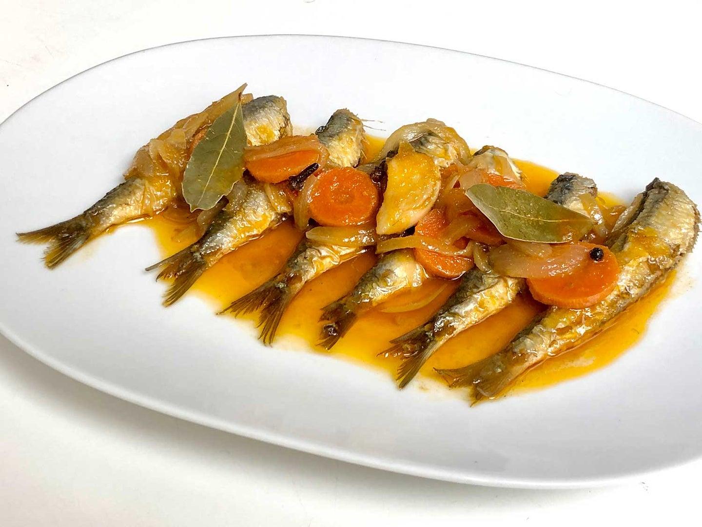 Sardines in Escabeche
