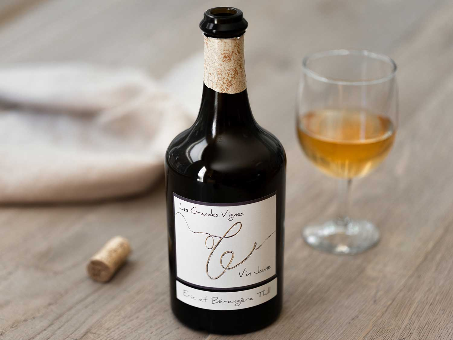 Vin jaune comes from the Jura region in the French Alps, which is also the birthplace of Comté cheese.