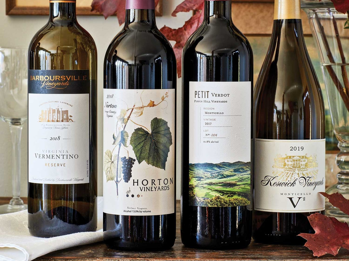 Virginia's annual Governor's Cup Case includes the year's top twelve local wines.