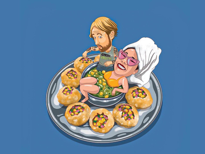 Food illustrations Jeff Segundo