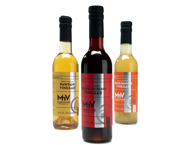 Madhouse Vinegar Co. unique vinegars