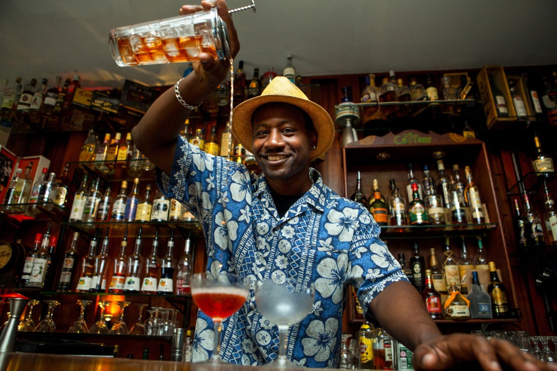Bartender and spirits professional Ian Burrell is also the cofounder of Equiano, a new transatlantic rum