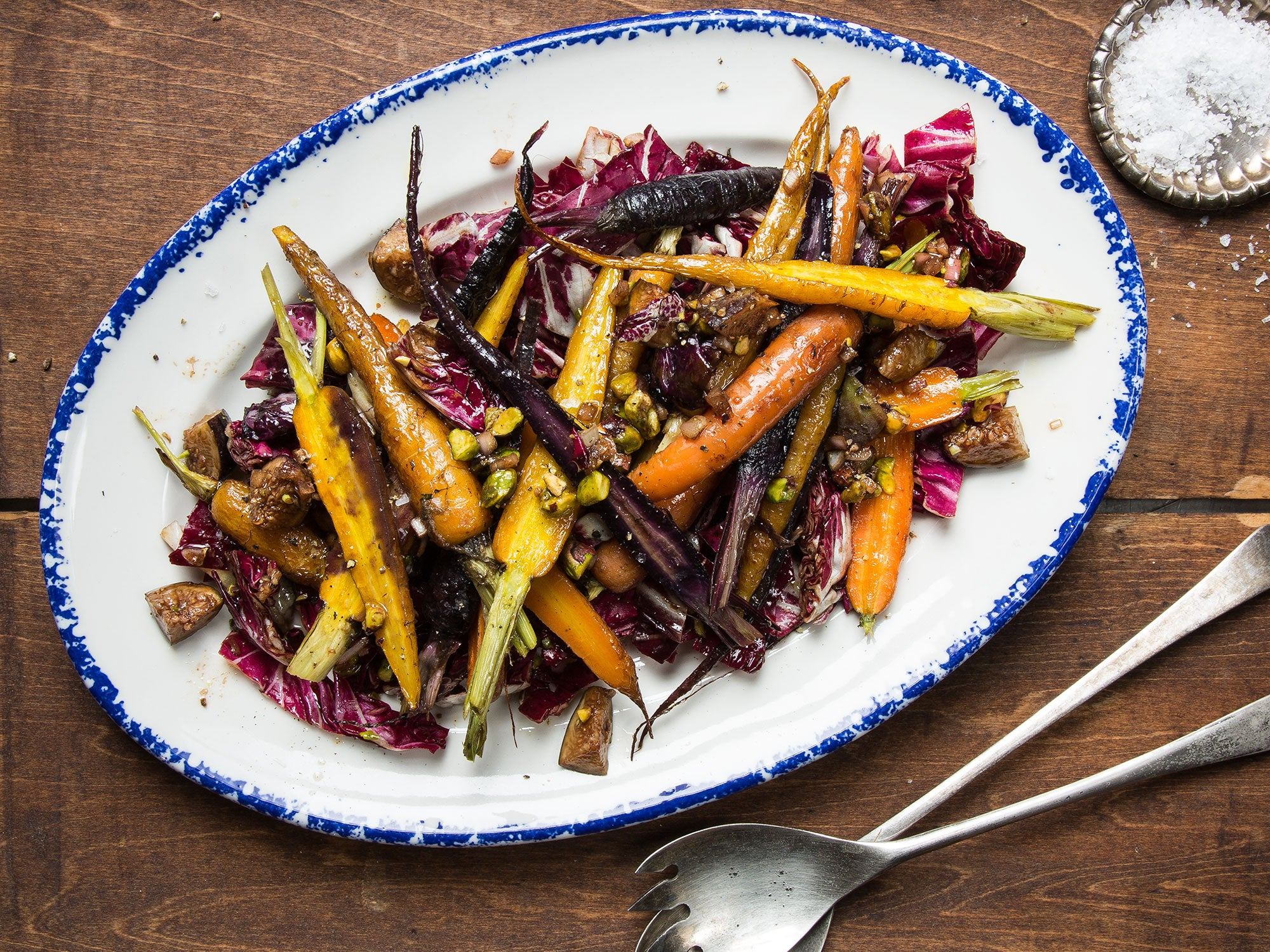 Carrot and Pistachio Salad