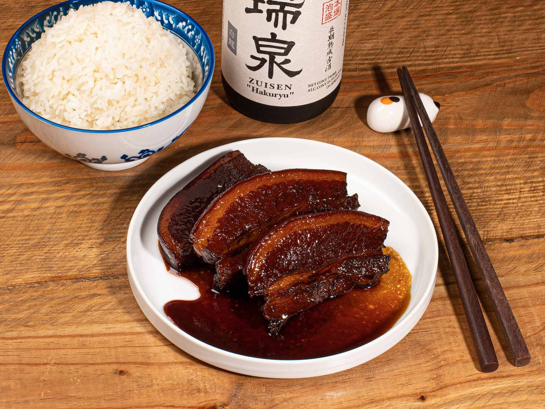 Rafute -  A salty-sweet fatty pork from the island of Okinawa.