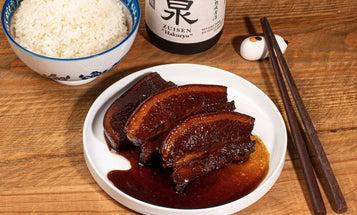 Simmer Your Pork Belly in Smoky Raw Sugar and Okinawan Shochu