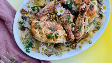 Floral Roasted Chicken