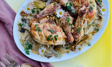 Chamomile Roast Chicken