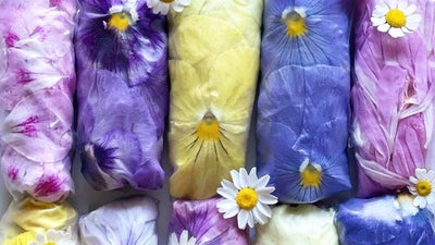 Flowered Summer Rolls