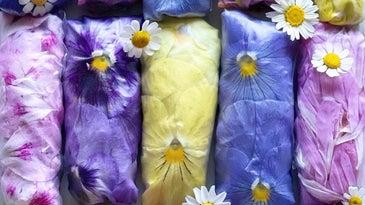 Floral Spring Rolls