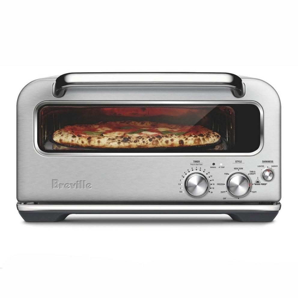 5. BEST INDOOR PIZZA OVEN:  Breville The Smart Oven Pizzaiolo