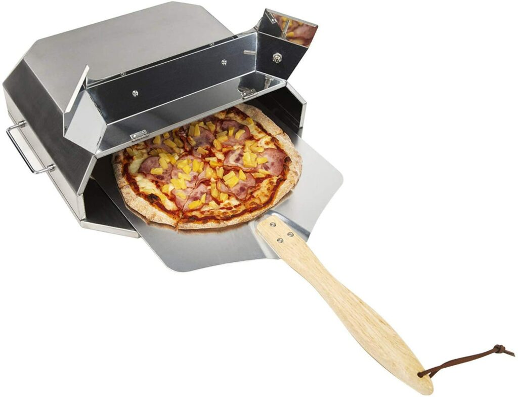 BEST GRILL INSERT: only fire Universal Stainless Steel Pizza Oven Kit
